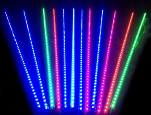 Barras LED RGB